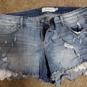 Torrid jean shorts size 14